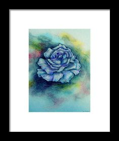 Blue Moments Framed Print by Faye Anastasopoulou Drawing Sketches, Drawings, Bloom Blossom, Spring Blooms, Paintings For Sale, Artist At Work, Designs To Draw, Decoration, Framed Art Prints