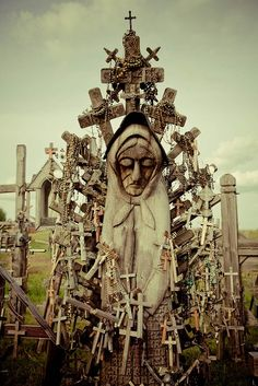 Lithuania's Hill of Crosses.