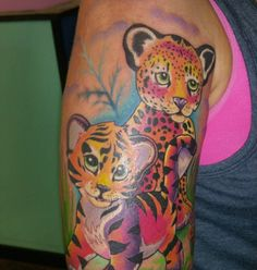 17 Lisa Frank Tattoos For the Rainbow-Obsessed 26497cdc4949