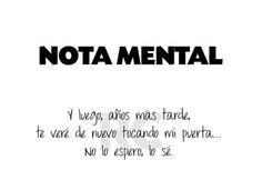 Nota mental