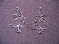 zilverdraad kerstdeko