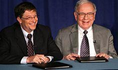 កំពូលអ្នកមានលើលោកទាំងពីររូប លោកBill GatesនិងWarren Buffett មានគំនិតដូចគ្នា ចំពោះអត្ថន័យនៃពាក្យជោគជ័យ - BizKhmer