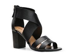 Audrey Brooke Sophie Sandal leather black 2.75h (49.95) NA
