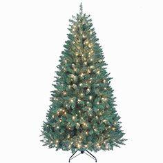 Treetopia Basics - White Artificial Christmas Tree, 4 Feet, Clear ...