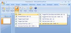 Shortcut Tools Screenshot - PowerPoint Shortcut Tools Details.  http://www.shortcuttools.com/en/powerpoint_shortcuts.html