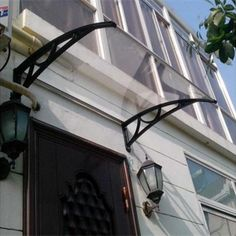 half-cassette style Retractable Polycarbonate Awning #Awnings #Canopy #Polycarbonate #pc