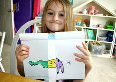 Girl Scout Daisies - ...3 Cheers for Animals! - Session 4 ideas! - Cheetah Team Animal Mural craft, map, Fantastical Animals Flip Books, Journey Award Certificate 'n more!