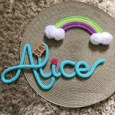 New crochet baby bunting kids rooms 34 Ideas Wire Crafts, Diy And Crafts, Kids Room Accessories, Hairpin Lace Crochet, Spool Knitting, Rope Art, Rainbow Butterfly, Baby Bunting, Crochet Amigurumi Free Patterns