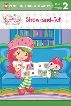 It's Show and Tell day at school for the Berrykins! One little Berrykin doesn't know what to bring, so she asks Strawberry and the girls for their help. Nothing seems quite right until Strawberry suggests making a scrapbook all about friendship! This original Penguin Young Reader is leveled for easy reading. Available this week!