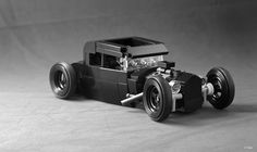 Lego MOC - Ford Coupe Rat Rod / Tyler Calin