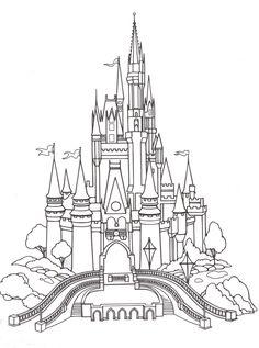 Disney Coloring Pages - Cinderella 4