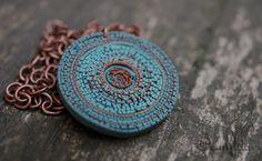 Semklita's stitch: Three necklaces from polymer clay