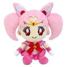 Mini Sailor Mini Moon Plushie http://www.moonkitty.net/reviews-buy-sailor-moon-plushies-toys.php #SailorMoon