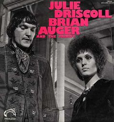 """ULIE DRISCOLL & BRIAN AUGER TRINITY """"S/T"""" ORIG FR 1968"""
