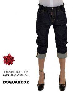 4 modelli per 4 personalità femminili. Tagli in lana, il classico #skinny e lo stile urban del modello Big Brother. Scopri la collezione►http://bit.ly/1mvQpct fatti un #regalo firmato DSQUARED2 #fw15 #ILoveOnlineShopping #womenswear