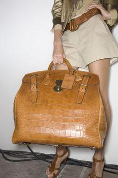 (Ralph Lauren) - hope it's faux, but it's hot nonetheless - women's designer handbags, fashion handbags wholesale, hobo international handbags Fashion Handbags, Purses And Handbags, Fashion Bags, Mk Handbags, Large Handbags, Burberry Handbags, Gucci Bags, Vintage Handbags, Lady Dior