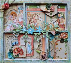 Spring - mini shadowbox frame : Gallery : A Cherry On Top