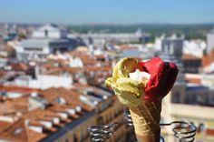 Cornetto de Pistaccio, frambuesa y yogur. Fotografía de/ por Rocío Pastor Eugenio. WOMANWORD
