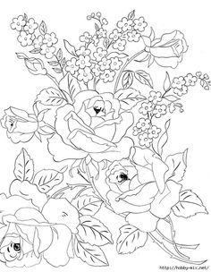Array Coloring Pages Flowers Hard Best Of Digital Two for Tuesday Last Of the Digital Flowers. Flower Coloring Pages, Colouring Pages, Adult Coloring Pages, Coloring Books, Rose Flower Colors, Colorful Flowers, Embroidery Designs, Hand Embroidery, Flower Patterns