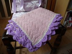 Heirloom Baby Blanket by ChellsCraft on Etsy