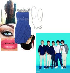 """Prom with the boys"" by directioner711 ❤ liked on Polyvore"