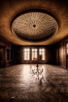 Abandoned Buildings by Matthias Haker // Eventually, I will end up pinning all this photographer's work. Amazing.