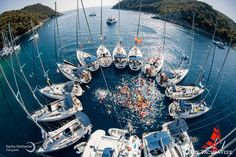 The Yacht Week pool party