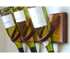 Cedar & Leather Wine Rack