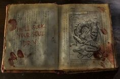 Evil Dead Necronomicon Book