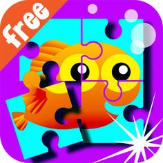 Wee Kids Puzzle FREE   #puzzle #kids #app #colorful #education #kid #preschool t #ipad #iphone #android #iOS