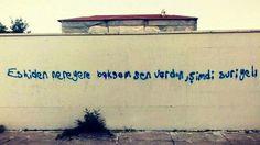 Eskiden nereye baksam sen vardın.. Şimdi Suriyeli ... :)))
