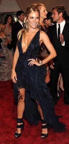 Sienna Miller in Pucci at the Met Ball
