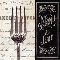 Pela French Menu II