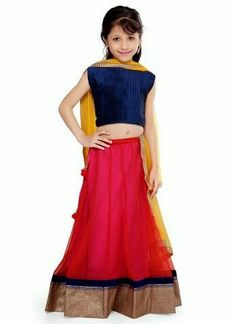Ethnic Wear Dresses For Kids - Baby Girls Wedding Wear Suits - Fashion Hunt World   Fashion That Makes You Different