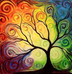 Tree color art