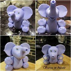How to make an elephant. #diy #crafts www.BlueRainbowDesign.com