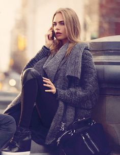 Cara Delevingne for DKNY Fall 2013