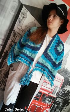 Crochet Clothes, Crochet Top, Shawl, Boho, Trending Outfits, Awesome, Handmade Gifts, Clothing, Vintage