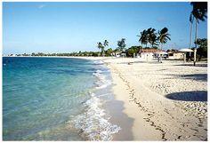 Beautiful beach at Puerto Padre LasTunas, Cuba.