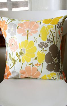 Jocelyn Removable Throw Pillow Cover by leahduncan on Etsy, $38.00