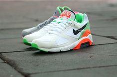 """Nike Air Max 180 """"Green Safari"""" / Если вы помните, то буквально пару дней назад, я публиковал фотографию новой расцветки кроссовок Nike Air Max 180 (клик), сегодня, стало известно еще об одной версии, которая предстанет в приятных и освежающих цветах...."""