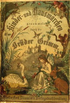Grimm Brothers Fairy Tales ! German edition, ca. 1880.