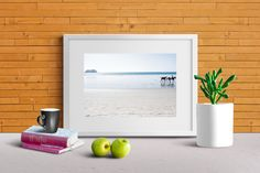 Landscape Photography Print Horses Beach Costa Rica Palm Trees Sand Home & Living Art Pacific Ocean by BryceJacksonPhotos on Etsy