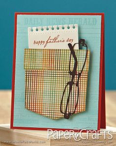 Father's Day Card by Erin Lincoln by Paper Crafts Photos, via Flickr