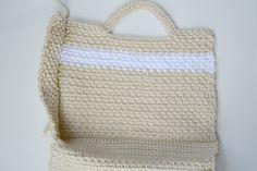 Large Crochet Purse