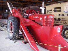 Farmall Super M with corn picker