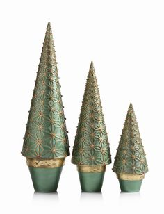 Canterbury Cone Tree on Potted Base