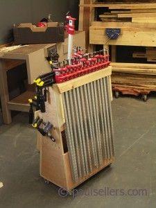 89 Best Workshop Clamp Storage Images Woodworking Shop