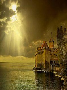 Chateau de Chillon, lac Léman, Switzerland