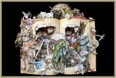 Incredible Book Sculptures – Kelly Campbell Berry #craft #diy